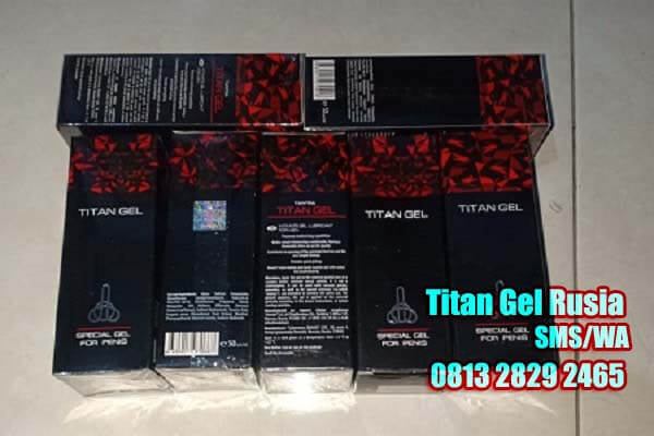 cream titan gel asli