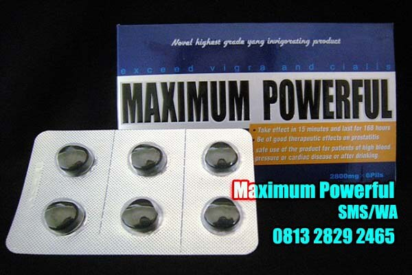 maximum powerfull asli